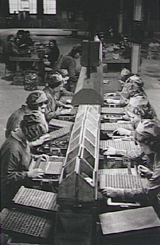 Women making ammunition