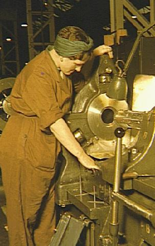 A day in the life of a munitions worker