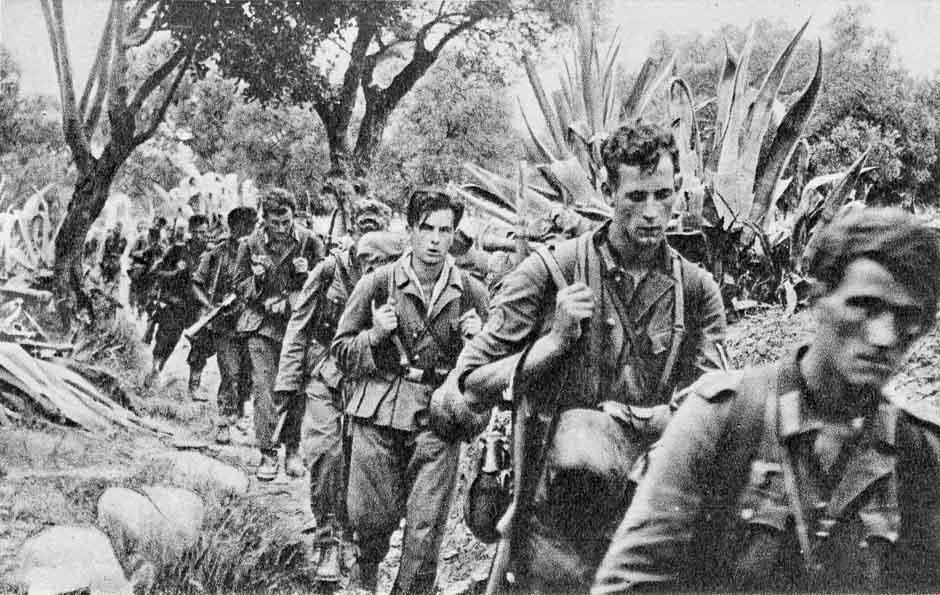German mountain troops on Crete
