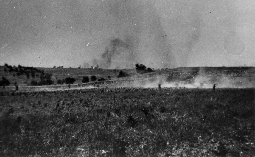 New Zealanders attack at Maleme